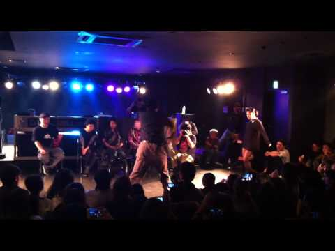Mr.ta-bo-/ターボー WAACKING on BATTLE WAACK 20130120 【Best8】