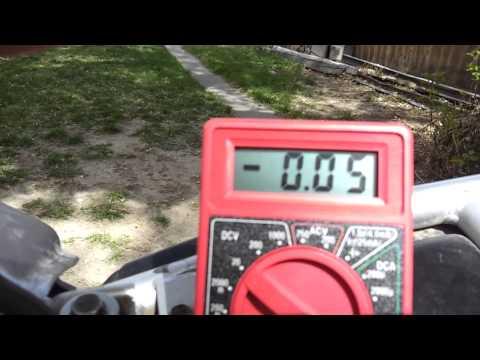 testing rectifier 06 KLR 650