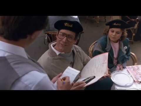 European Vacation Waiter Scene Youtube