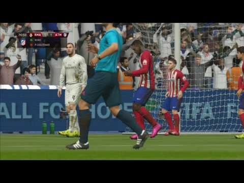 Madrid Derby Real Vs Atletico Fifa 16 Gameplay Part 2 HD