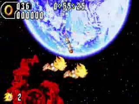 Sonic Advance 1-3 Super Sonic battles