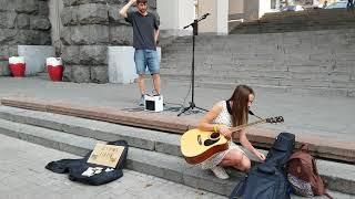 Sasha / Liza / Anya / Tais performed in Khreschatik