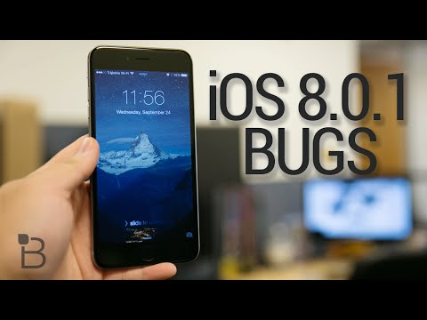 iOS 8.0.1 Bugs: Hands-On