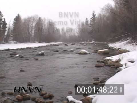 2/8/2004 Winter Scenic creek video