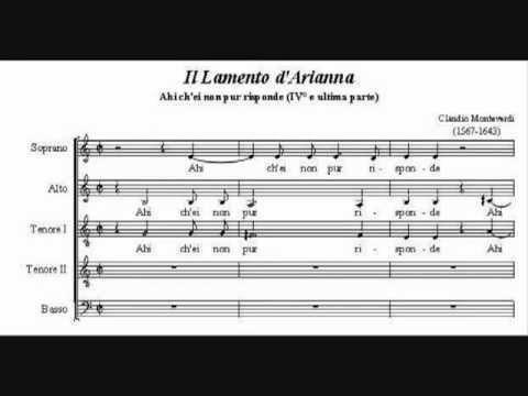 Монтеверди Клаудио - Lamento d