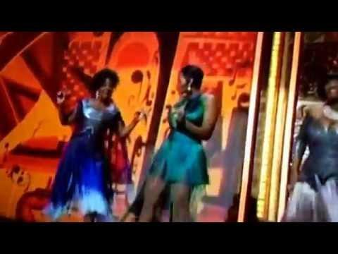 Patti Labelle, Fantasia and Gladys Knight perform on the 2014 Tony Awards
