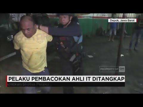 Pelaku Pembacokan Ahli IT Hermansyah Ditangkap