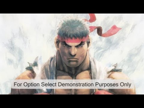 Ryu Option Select Demonstration