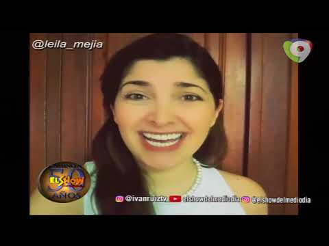 Leila Mejía comenta sobre el día internacional del asperger en El Show del Mediodía