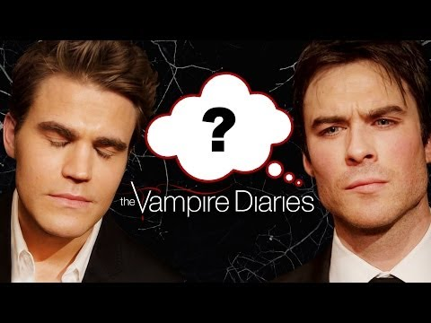 the Vampire Diaries Who Said It Edition - Ian Somerhalder, Paul Wesley, Nina Dobrev video