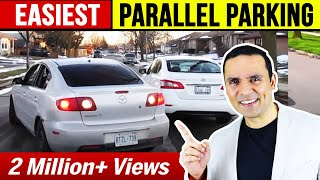 PARALLEL PARKING Easy and Simple - Method 2 || Toronto Drivers
