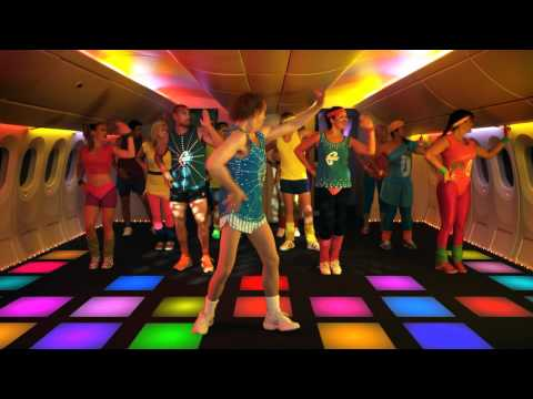Air New Zealand's Mid Air Disco Party Video #RICHROLL