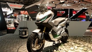 2016 NEW HONDA CITY ADVENTURE CONCEPT ADV in EICMA 2015 - Off road scooter by HONDA