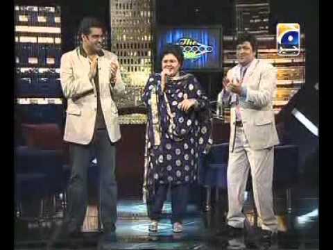 Shazia Manzoor In Umar Sharif Show.avi video