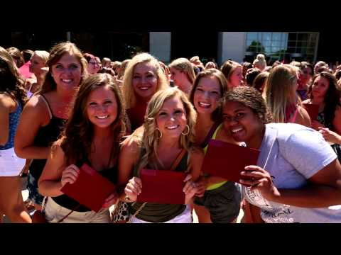 UNL Greek: Bid Day 2014