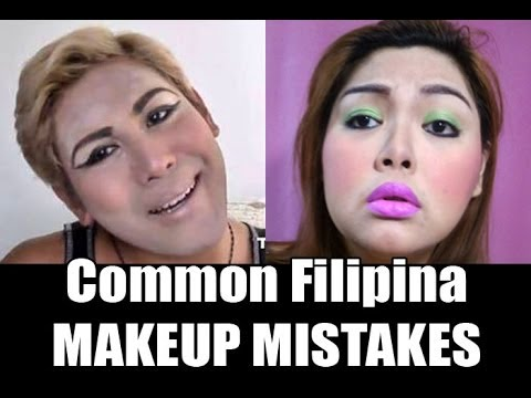 COMMON FILIPINA MAKEUP MISTAKES (Collaboration with ThePopHeir)