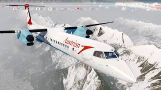 [P3D v4.2] Majestic Dash 8 --- LOWI-LOWW NEW Immersive Soundpack