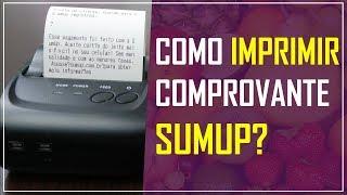 ✔️️ SumUp -  Impressora para comprovante de vendas