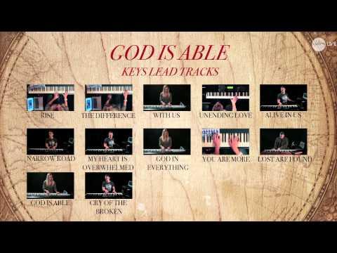 God Is Able - Keys Lead Tracks