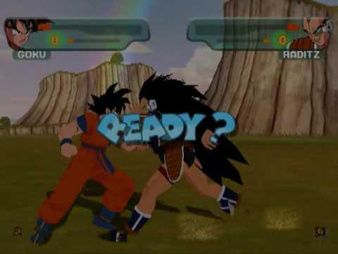 Dragonball Z Budokai 1 on GC Emulator