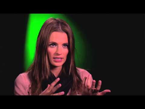 Matt Bomer & Stana Katic - Superman Interviews