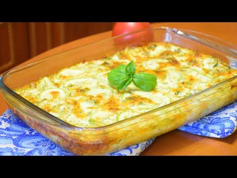 Вкуснятина из кабачков за 30 минут ✧ Запеканка с сыром и сливками