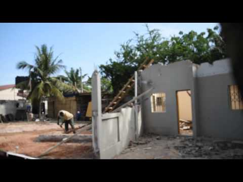 Nyaniba Estates, F515/4. OSU. Accra - Demolition Of BoysQuaters