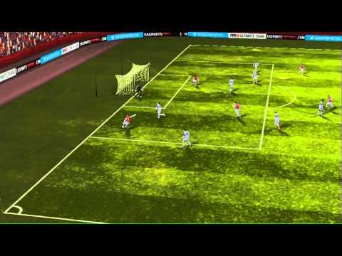 FIFA 14 iPhone/iPad - Arsenal vs. Swansea City (Theo Walcott bicycle kick)