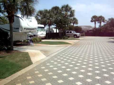Our American RV Road Trip part 11 a Destin RV Park