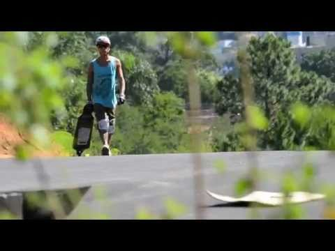 LONG BOARDING SIDEWAYS