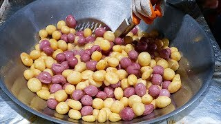Taiwanese Street Food - FAST FRUIT CUTTING SKILLS Tainan Taiwan