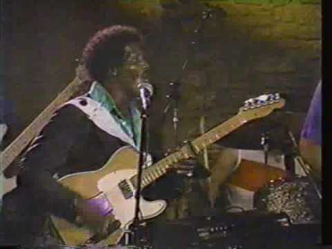 Albert Collins - 1988 Austin TX - pt 4 - Lights Are On But Nobody's Home