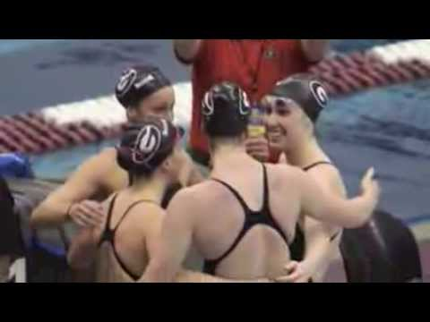 2012-2013 UGA Swimming and Diving Season Recap Video
