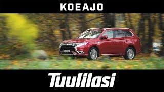 Koeajo: Mitsubishi Outlander PHEV Instyle 4WD (2018) - Tuulilasi