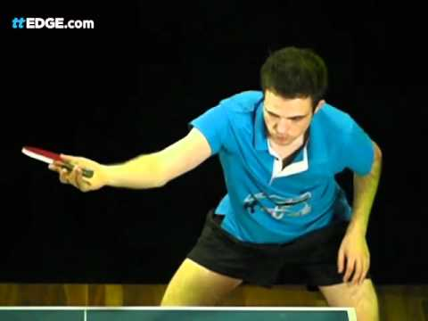 Table Tennis Coaching Backhand Topspin Against Block by ttEDGE