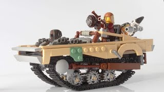 Lego Tank Car Peacemaker from Mad Max Fury Road MOC