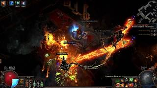 Abyss crack at Poorjoy's Asylum - Path of Exile