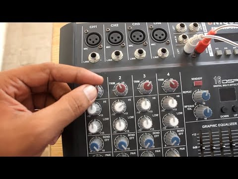 how to connect non USB mixer to computer full explain in Hindi and Urdu