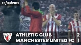 Europa L. 11-12 - 1/8 Vuelta - Athletic Club 2 Manchester Utd. 1