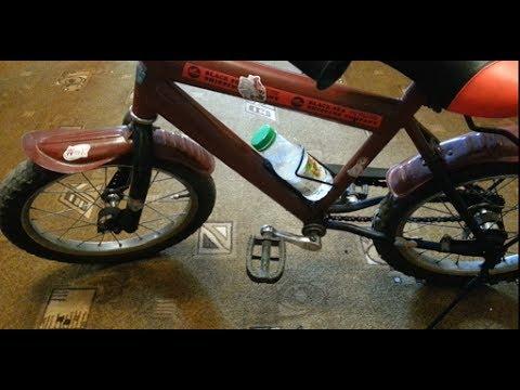 Как сделать флягодержатель на велосипед своими руками