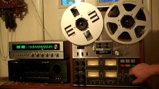 TEAC A-3340S Reel to Reel Tape Deck/Recorder Serviced and working with New Belts. ZCUCKOO