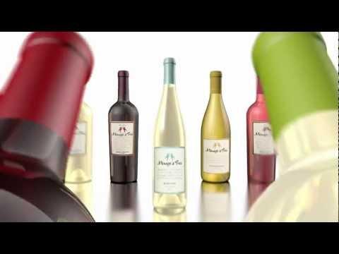 Menage a Trois Pinot Grigio & Cabernet Sauvignon Announcement