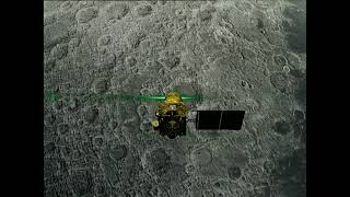 India's second lunar mission touches down on the moon