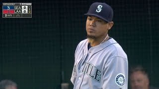Felix sets the Mariners' all-time K record