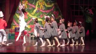 Philadelphia Dance Academy Nutcracker 2015 Battle Scene Mouse