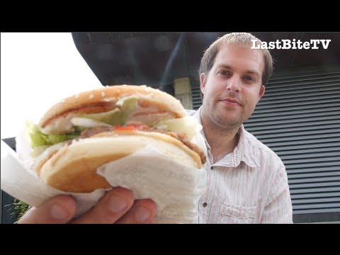 McDonald's Big Mac vs Burger King Whopper - burger review from LastBiteTV