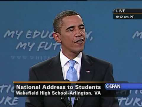 Pres. Obama National Address to Students
