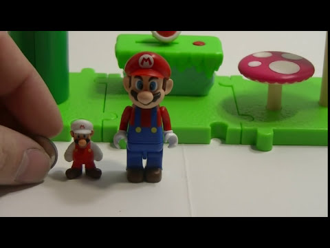 World of Nintendo Micro Land Deluxe Pack Acorn Plains Super Mario Review