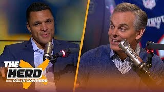 Tony Gonzalez on the coaching job in Green Bay, skydiving at Fort Benning | NFL | THE HERD