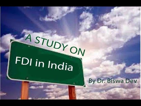 FDI Greenfield Investment in India